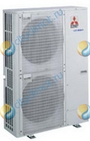 Наружный блок мультизональной VRF системы Mitsubishi Electric PUMY-P125YHMA