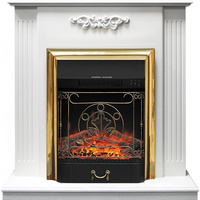 Электрокамин Royal Flame Majestic FX Brass+ портал Lumsden
