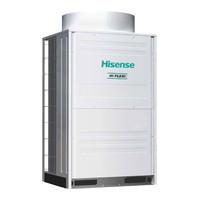 Наружный блок мультизональной VRF системы Hisense AVWT-114U6SR