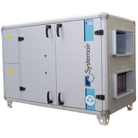 Приточно-вытяжная установка Systemair Topvex SX/C04 HWL-L