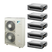 Мульти сплит система Daikin FDXM25F3x3+FDXM35F3x2/ RXYSQ6TV1 (комплект)