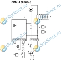 Электрический нагреватель Systemair CBM 125-1,2