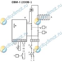 Электрический нагреватель Systemair CBM 150-2,1