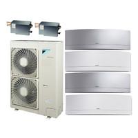Мульти сплит система Daikin FTXG25LWx2+FTXG35LSx2/BP2x2/RXYSQ4T8V (комплект)