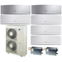 Мульти сплит система Daikin FTXG25LWx4+FTXG35LSx2/BP3x2/RXYSQ4T8V (комплект)