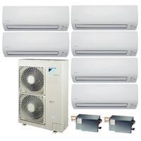 Мульти сплит система Daikin FTXS20Kx4+FTXS50Kx2/BP3x2/RXYSQ6T8V (комплект)
