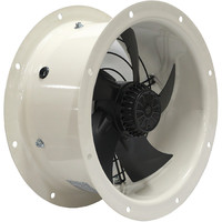 Осевой вентилятор Ровен YWF-4D-450 на фланцах